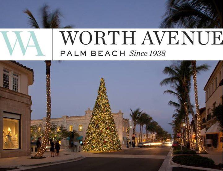 Tree Lights On University Avenue Are >> Worth Avenue Christmas Tree Lighting Event Palm Beach Social Diary